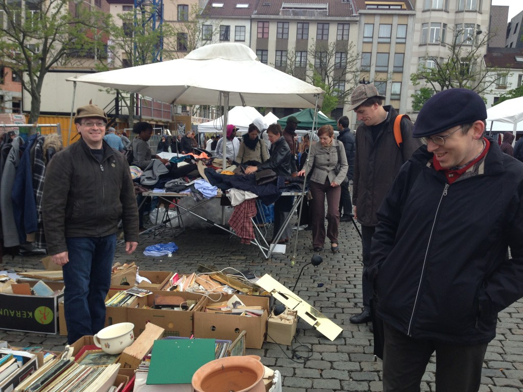 Brocante à Bruxelles