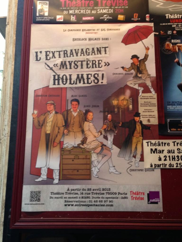 L'Extravagant Mystère Holmes