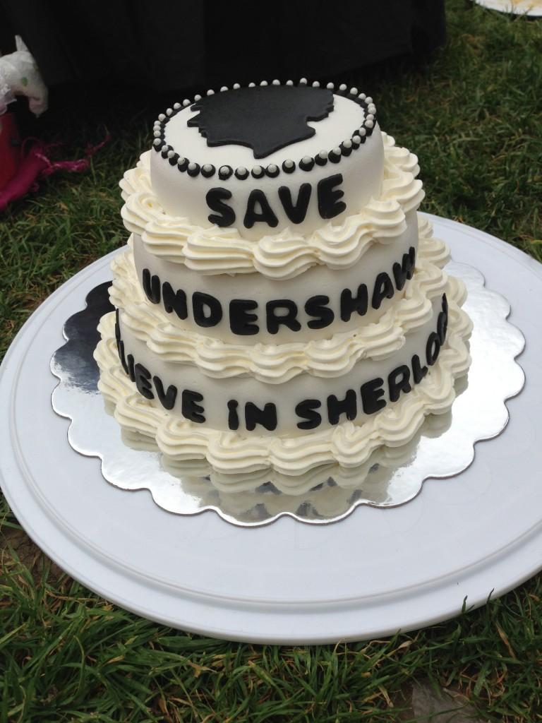 Sherlock Cake