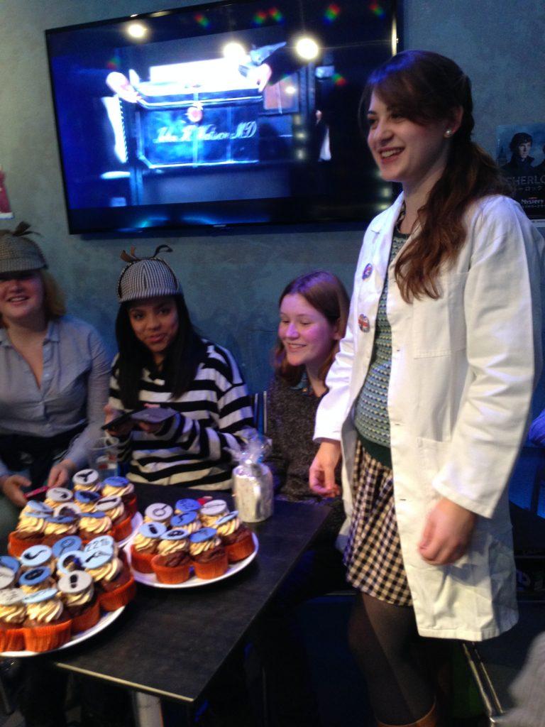 Sherlock Birthday Party