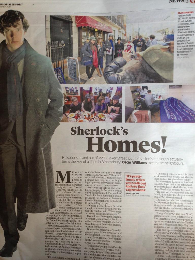 Sherlock Holmes The Telegraph