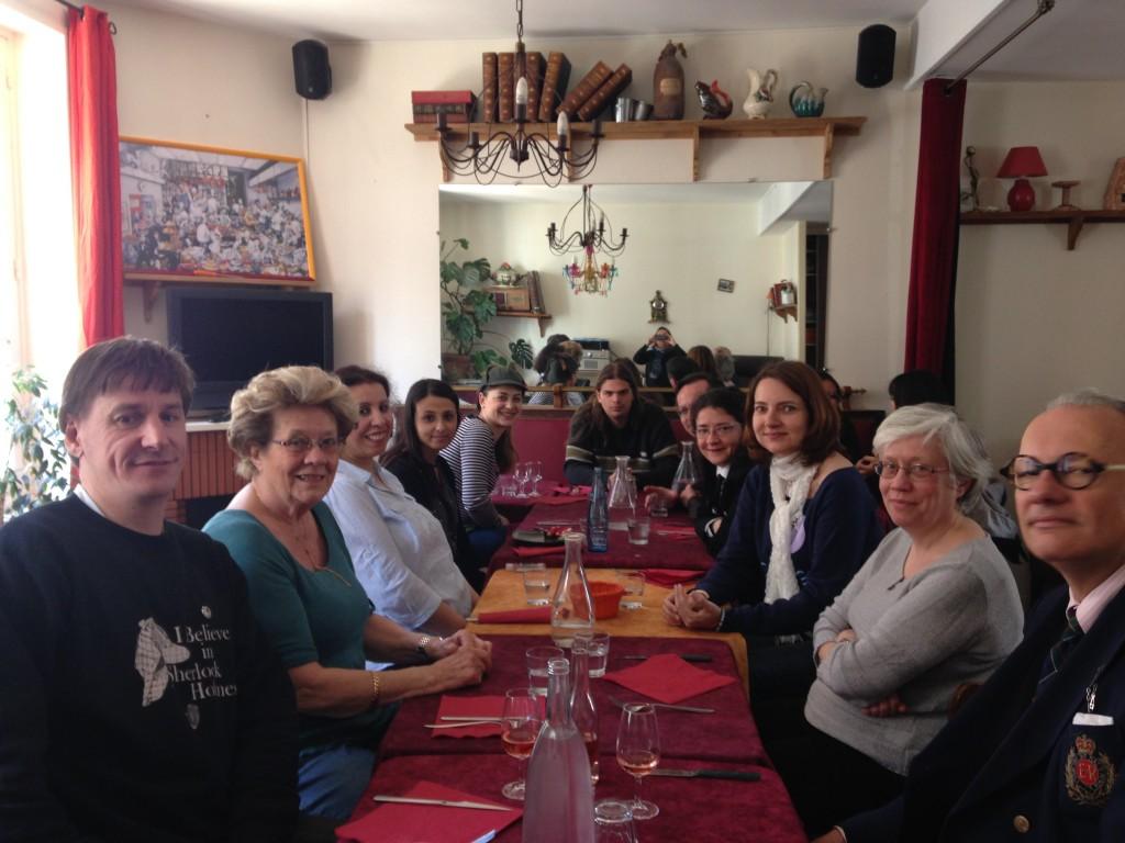 Déjeuner à Blois