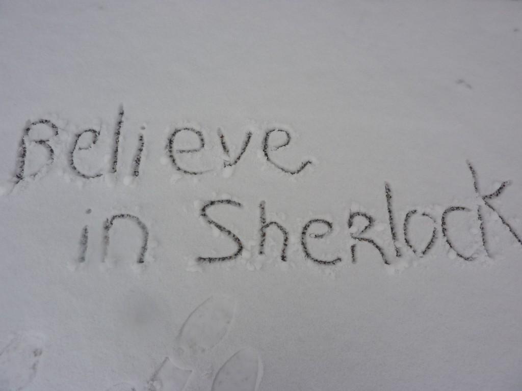 Believe in Sherlock