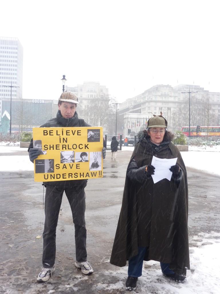 Flashmob Sherlock Holmes