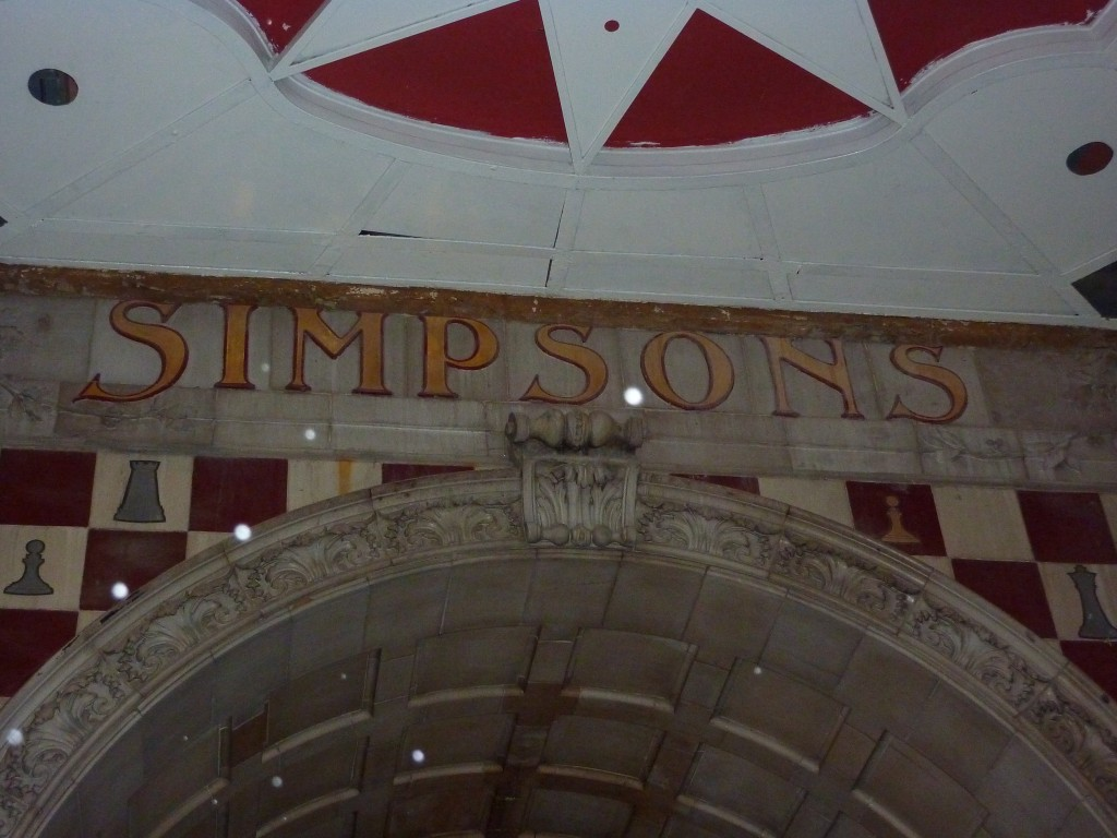 Simpson's-in-the-Strand