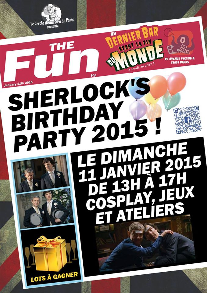 Sherlock Birthday Party