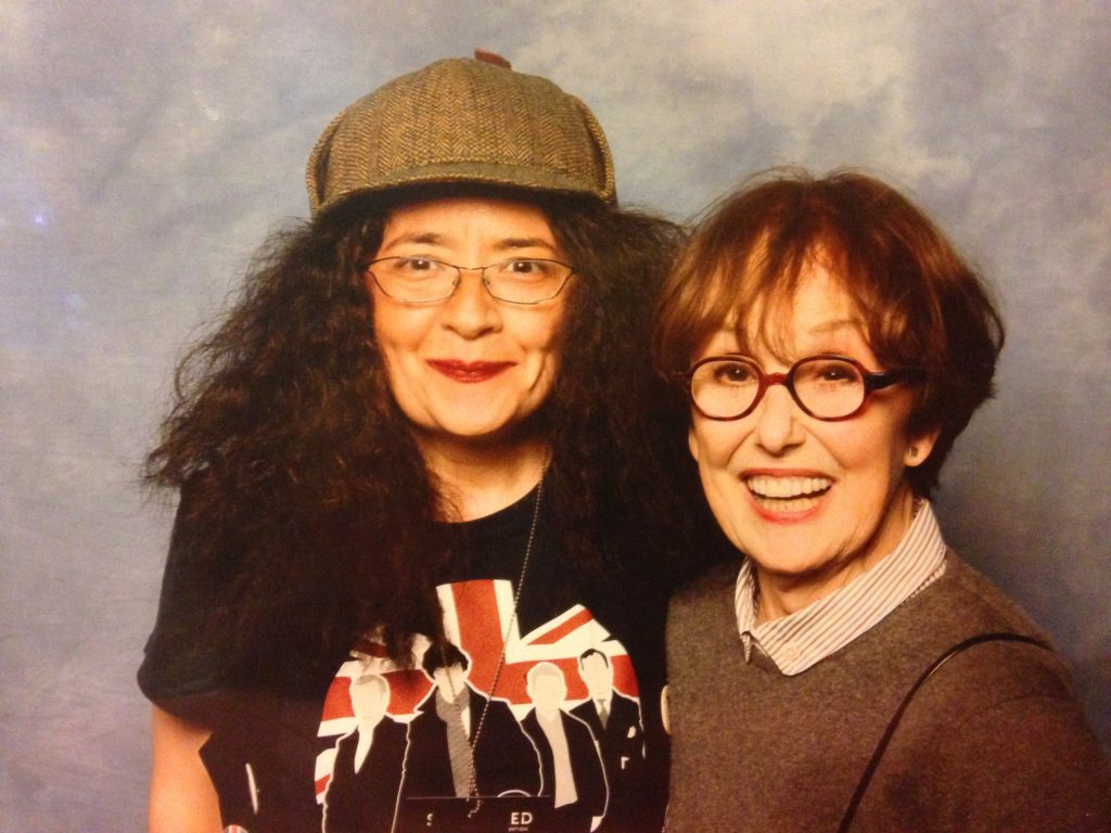 Una Stubbs Convention Sherlocked