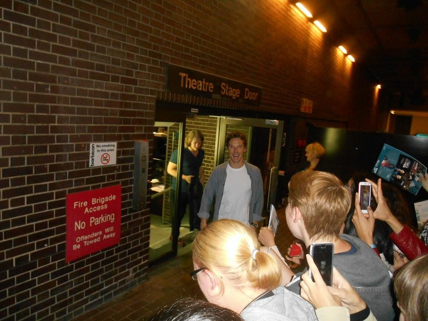 Benedict Cumberbatch Stage Door