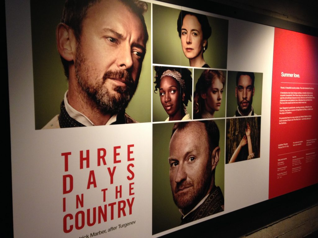 Mark Gatiss Three Days in the Country