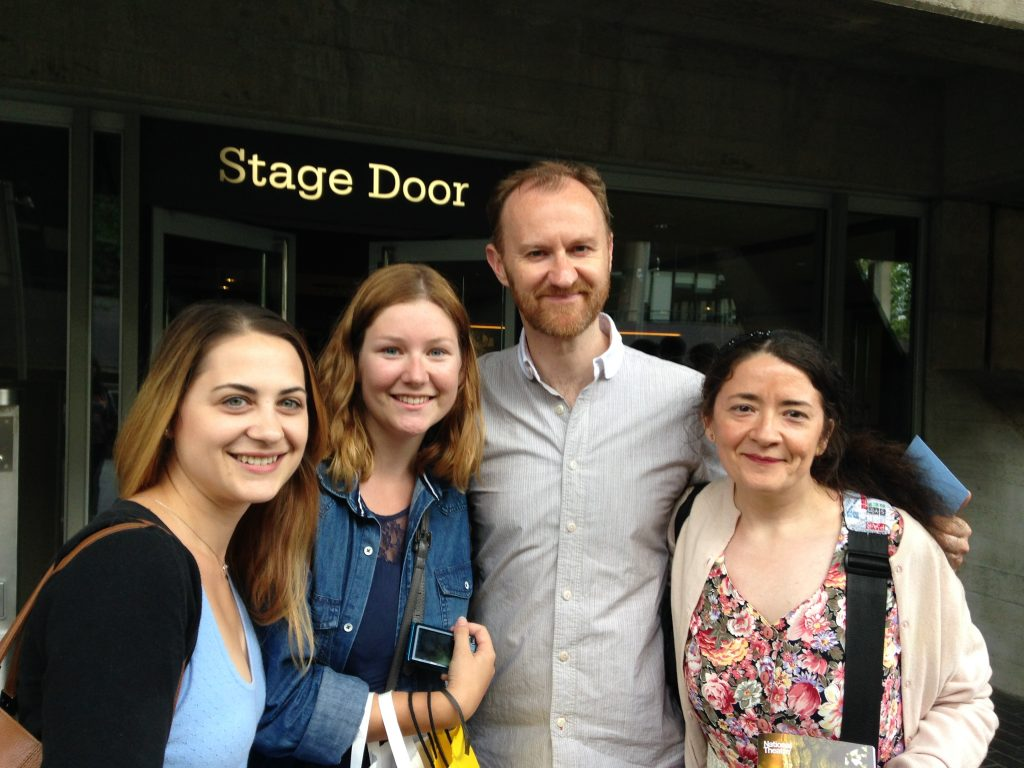 Mark Gatiss stage door