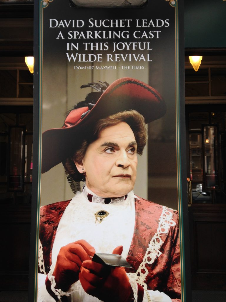David Suchet The Importance of Being Earnest