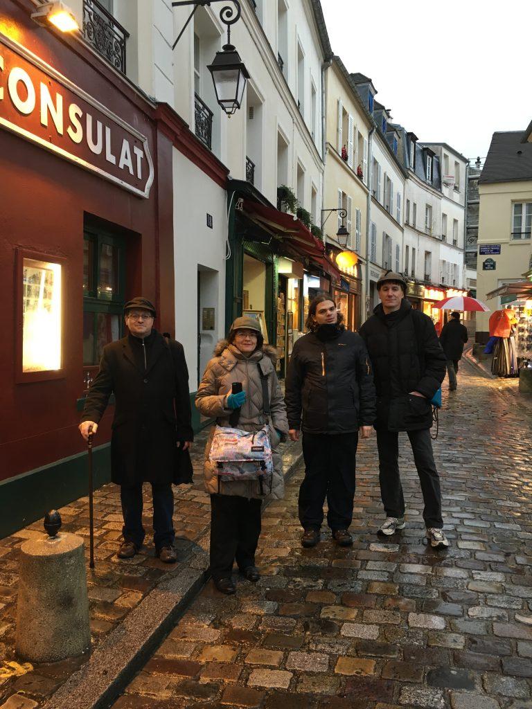 Le Cercle Holmésien de Paris à Montmartre