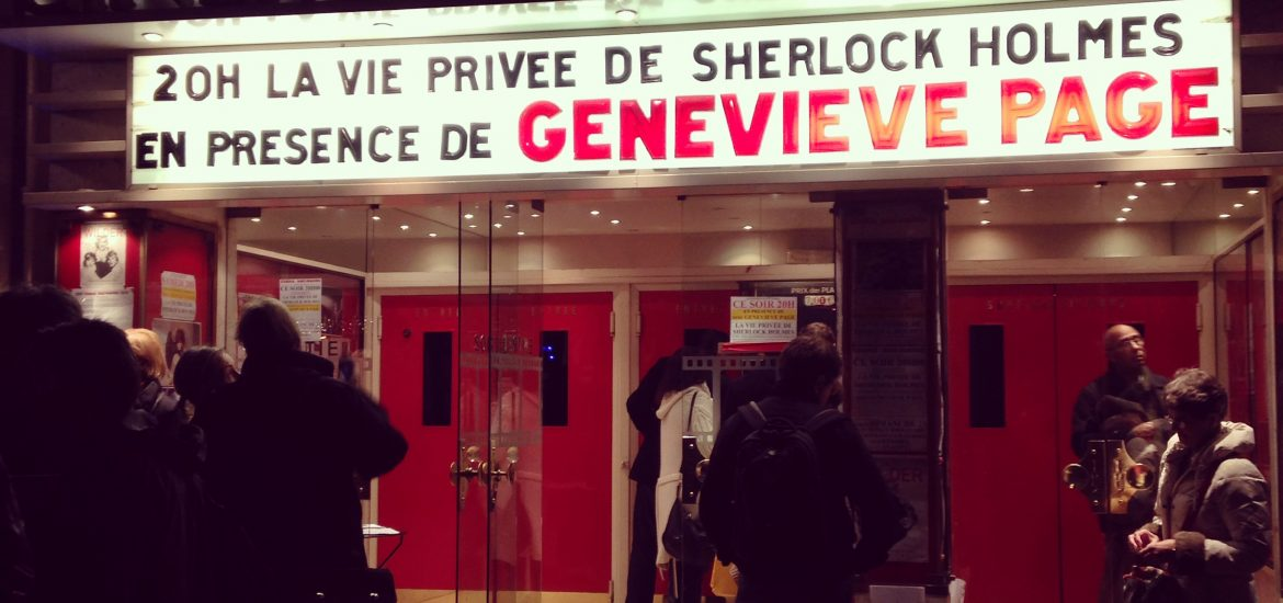 Geneviève Page The private life of Sherlock Holmes
