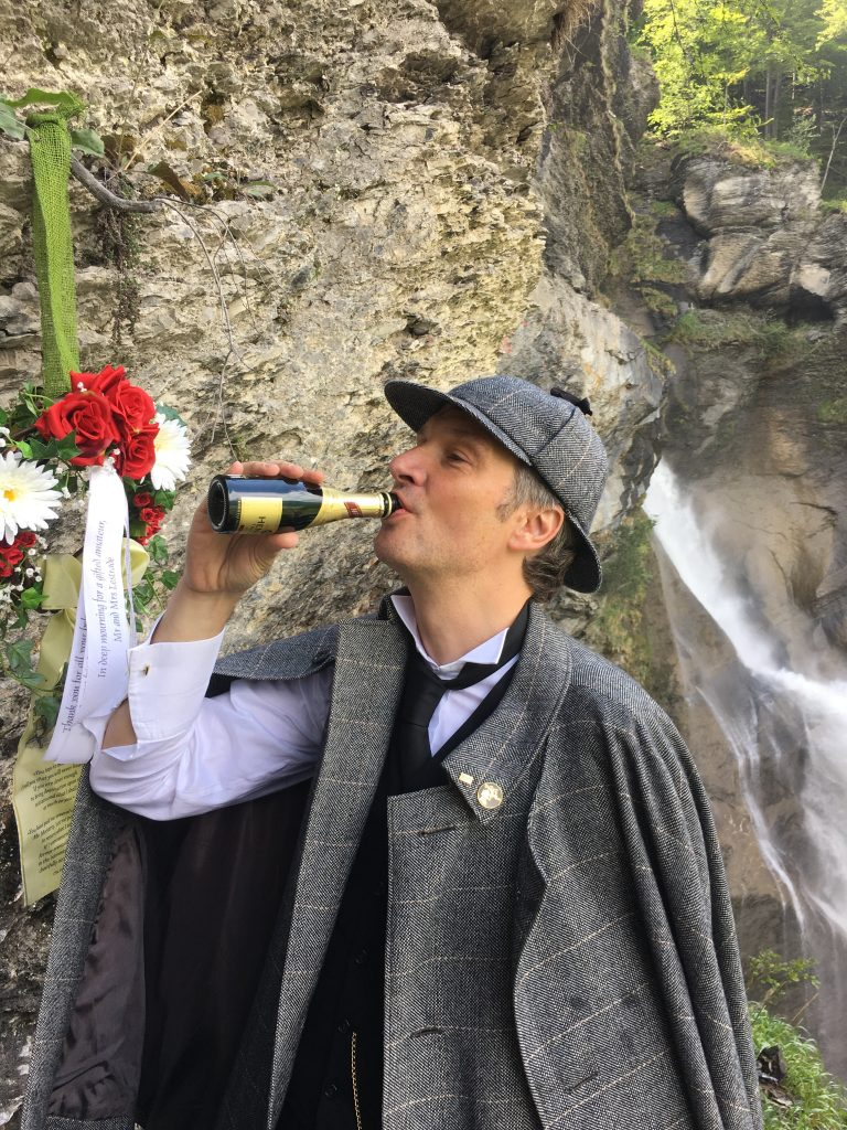 Reichenbach Falls Sherlock Holmes