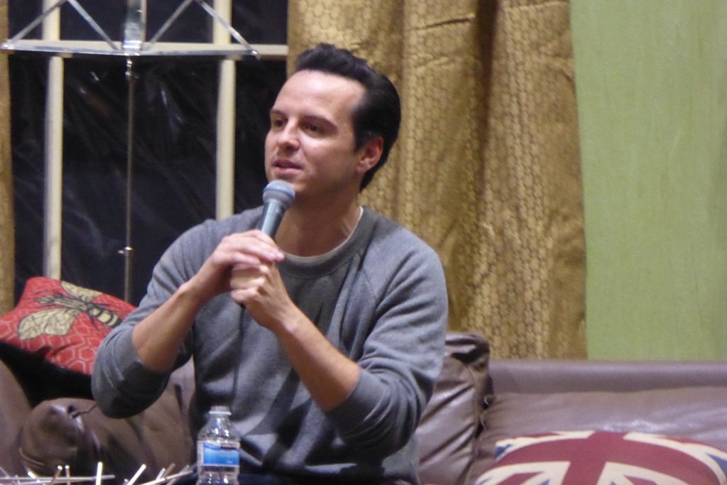 Sherlocked Convention Andrew Scott