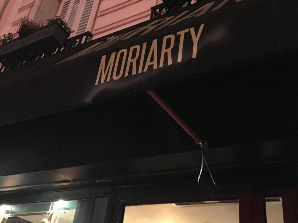 Diner chez Moriarty